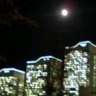 まんまる満月。