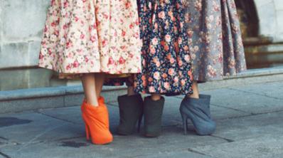 花がらスカート