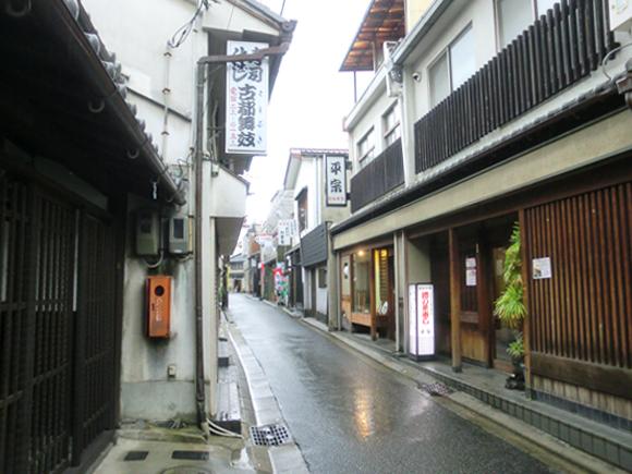 奈良町の路地