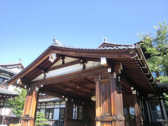 奈良ホテル入口