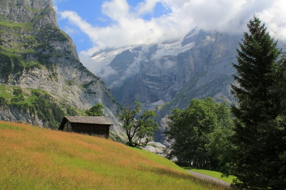 "Mountains of the Grindelwald valley, "" Explored :-) """
