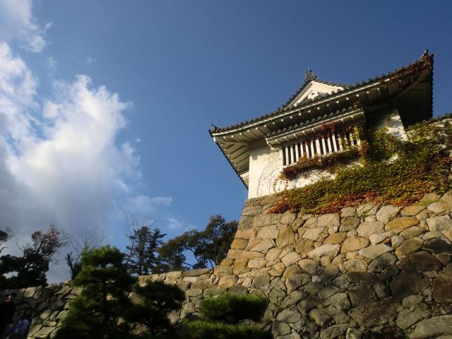 岡山城・石垣