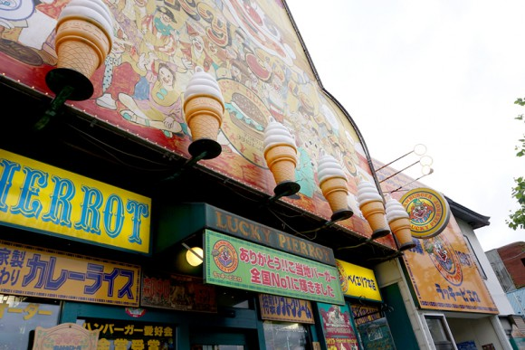 ベイエリア本店はラッキーピエロの1号店だそうです