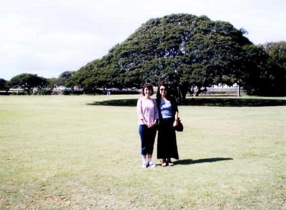 Nさんとハワイで撮った一枚。