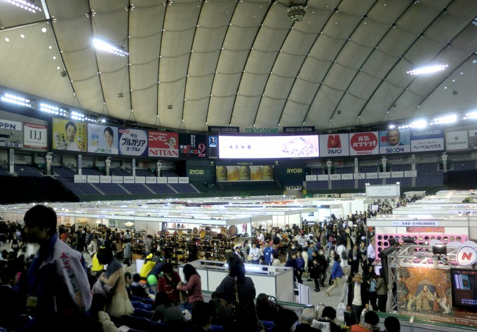 テーブルウェアフェスティバル東京ドーム