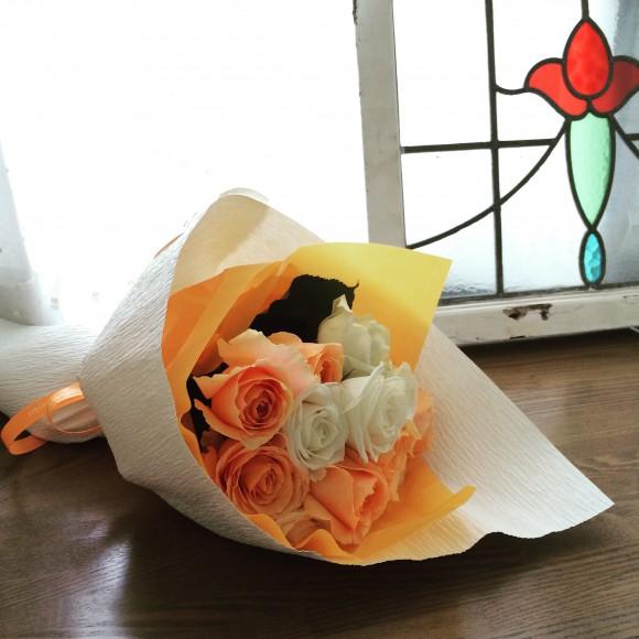 ご挨拶のお花