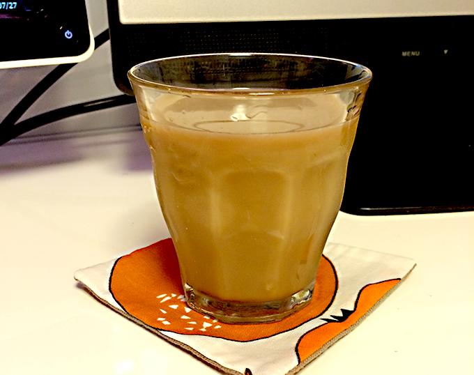 コーヒーでも麦茶でもマッチするデザインはやはり好き。