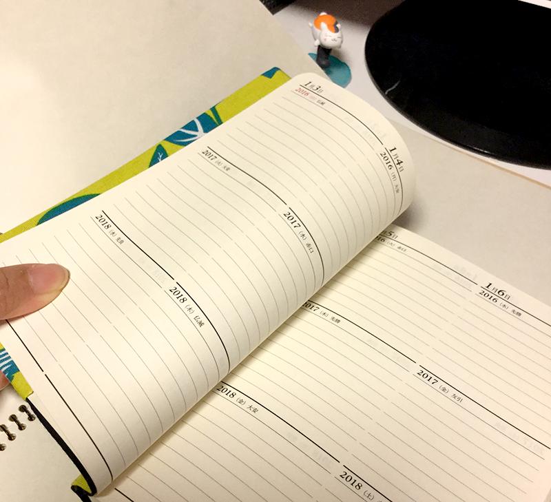 2016年~3年日記