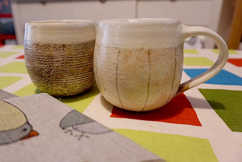 古谷製陶所のマグカップ