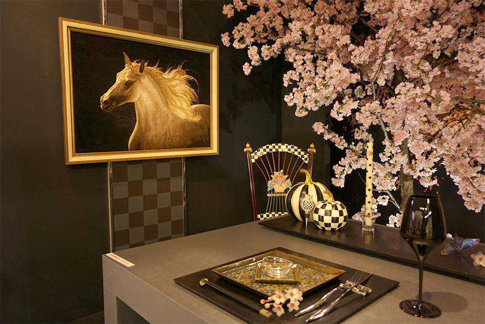 木村多江さんのテーブルウェアコーディネイト作品