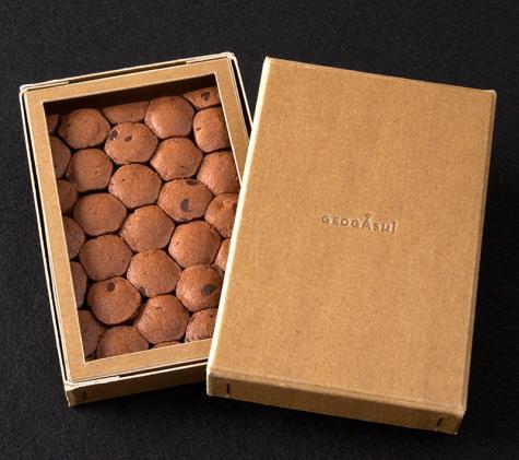 【箱ジオ】鑑賞してから食べるジオガシ 柱状節理クッキー【バレンタイン】