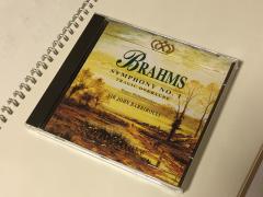 8枚のCDのうち、私が頂いたのはブラームスの交響曲一番